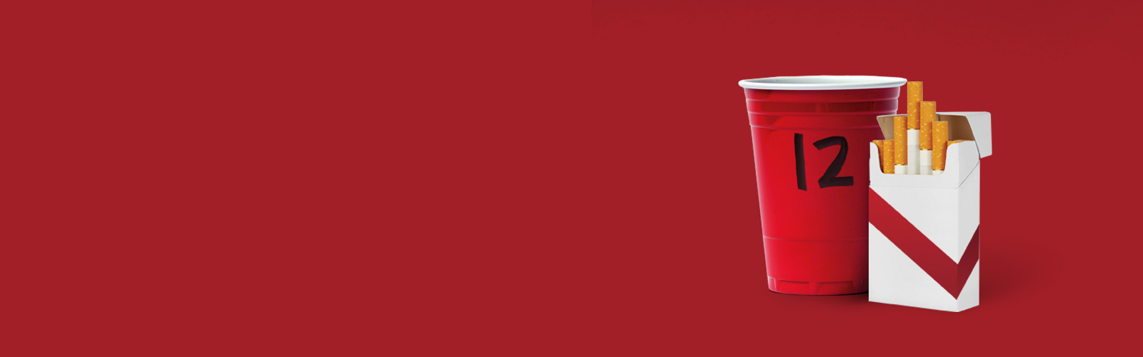 header red cups cigs - Be a Parent