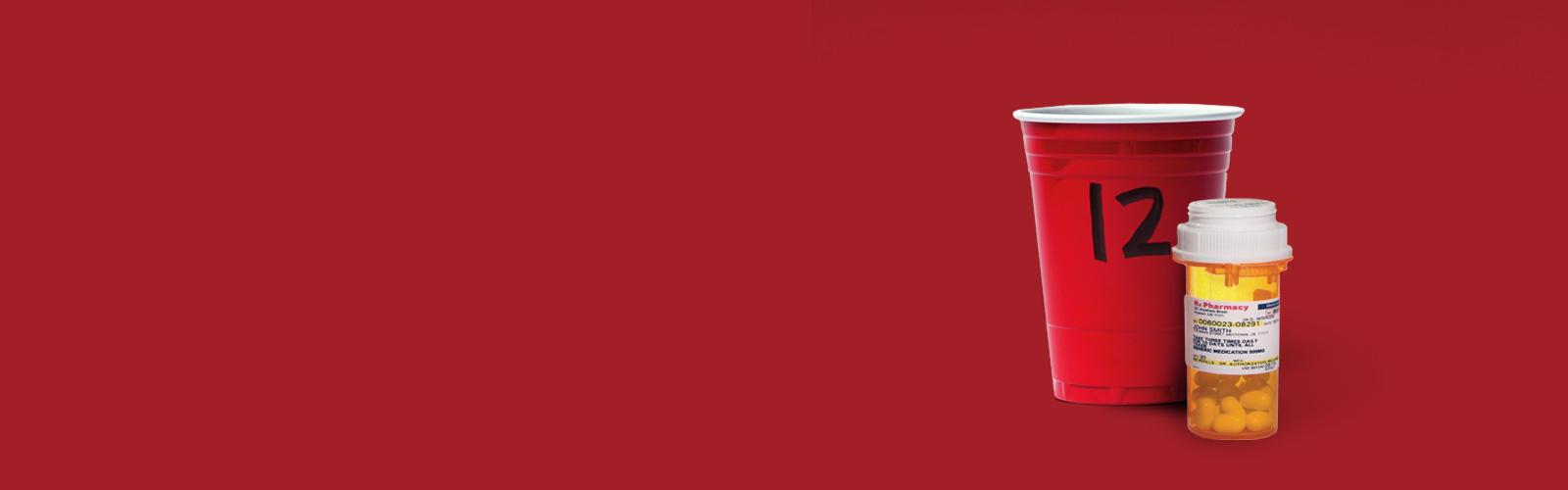 header red cups pills - Talking Tips