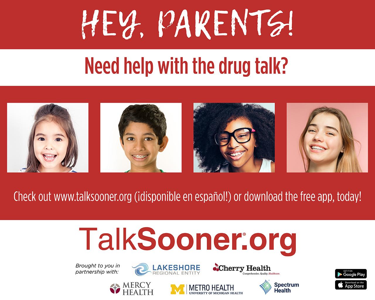 Talksooner Screensaver - Home